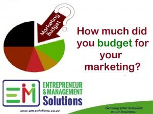 Marketing Budget22