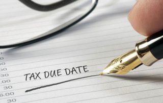 SARSCuts Tax Deadlines